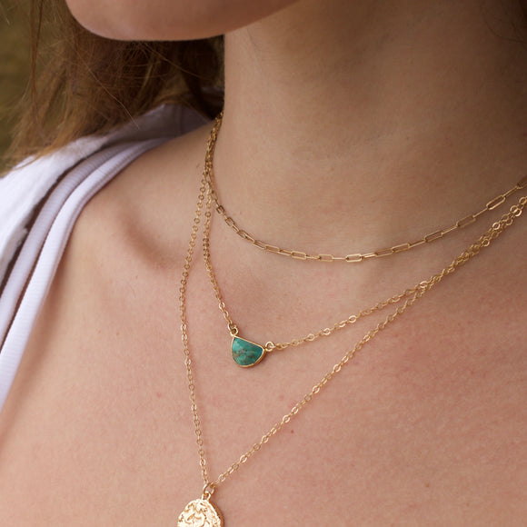 Turquoise Daydreamer Necklace - xohanalei