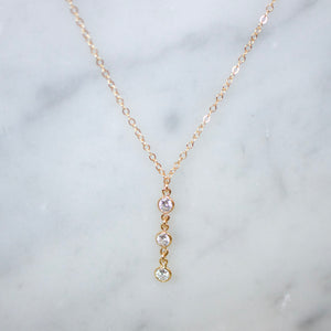 Diamond Drop Necklace - xohanalei