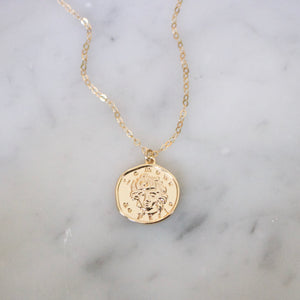 Paris Coin Necklace - xohanalei