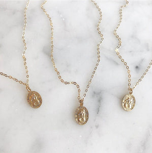 Saint Christopher Coin Necklace - xohanalei