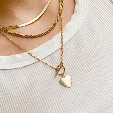 Cara Heart Necklace