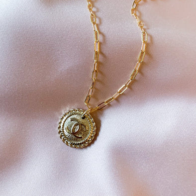 Gold Vintage Chanel Necklace