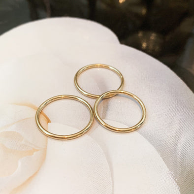 1.5 mm Gold Filled Stacking Ring
