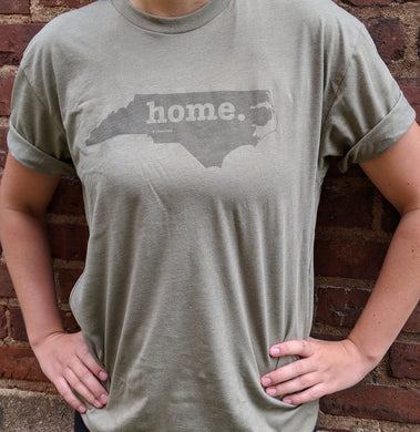 Home- Military Green T-Shirt