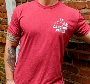 Carolina Proud Tee- Red