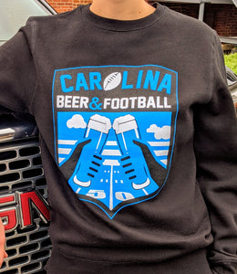 Carolina Beer & Football Sweatshirt