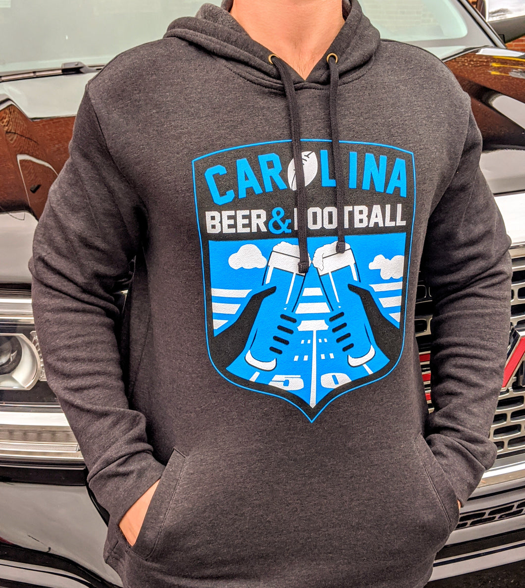 Carolina Beer & Football Hoodie