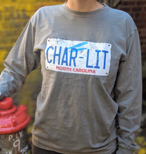Load image into Gallery viewer, Char-LIT Grey Longsleeve