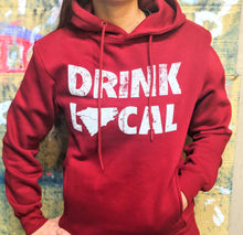 Load image into Gallery viewer, Drink Local Hoodie