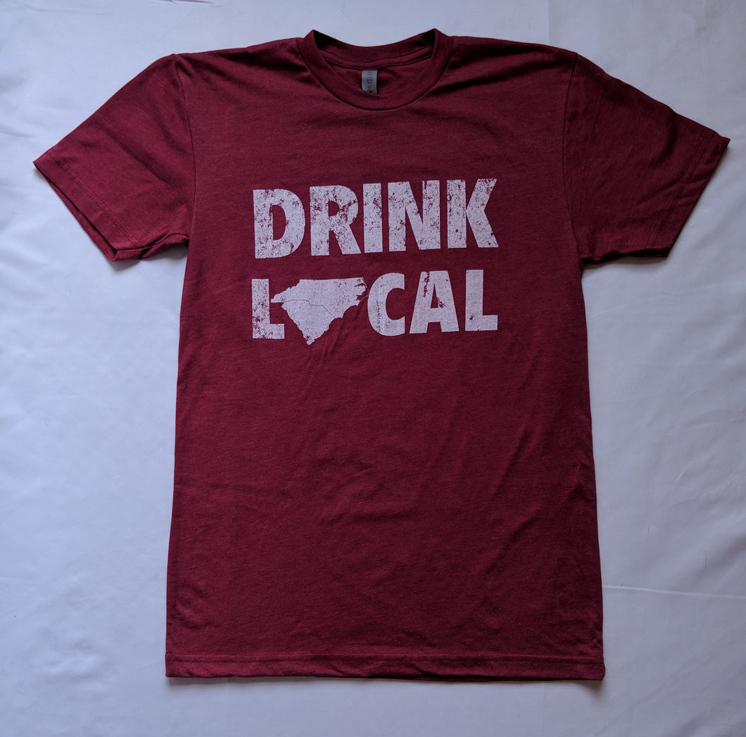 Drink Local Vintage Red T-Shirts
