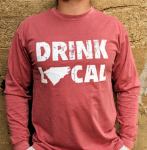 Load image into Gallery viewer, Drink Local Red Longsleeve