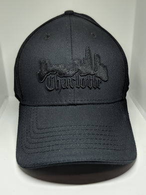 Charlotte Skyline Hat - Black