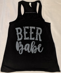 Beer Babe Tank - Black
