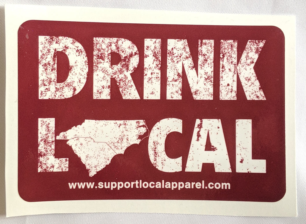 Drink Local - Vinyl Decal