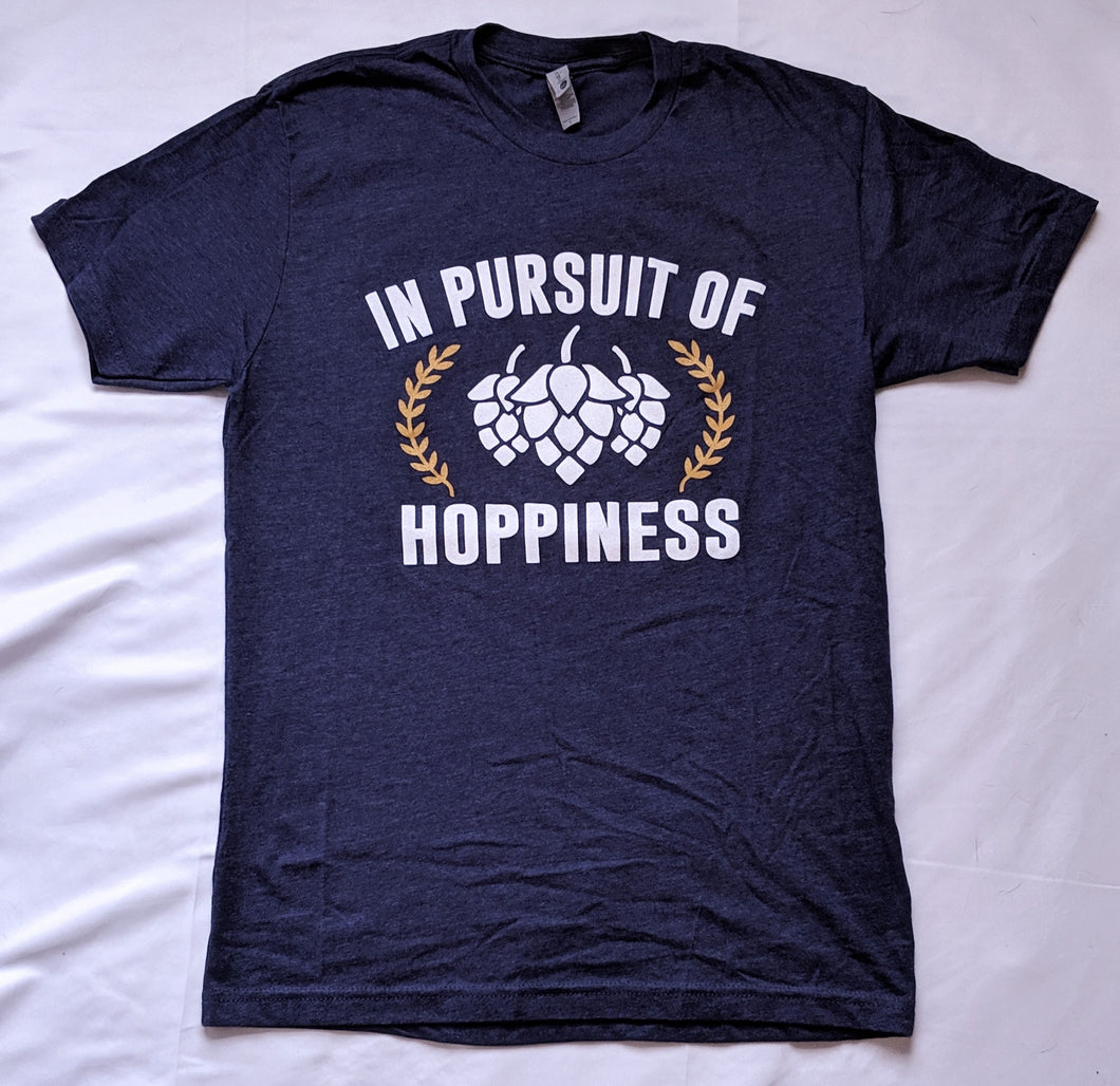 In Pursuit of Hoppiness Purple T-Shirt