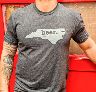 Beer- Charcoal T-Shirt