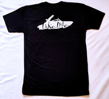 Load image into Gallery viewer, Lake Life- Front and Back- Black T-Shirt
