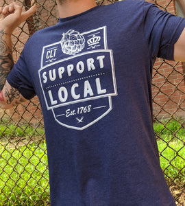 Support Local Flagship - Purple T-Shirt