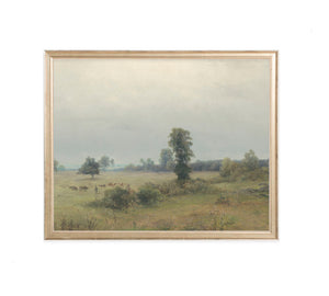 FRAMED GRAZING LANDSCAPE