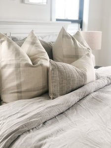Mod Linen Pillow Cover