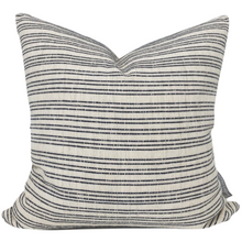 (PRE-ORDER) NAVY STRIPED PILLOW COVER