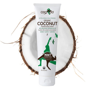 CocoRoo Mint Condition USDA Organic Coconut Oil Moisturizer - The Oily Blends
