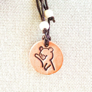 Kids Collection Bear Diffuser Necklace - The Oily Blends