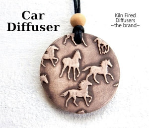 Kiln Fired Diffuser Essential Oil Car Diffuser - The Oily Blends