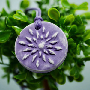 Purple Lotus Diffuser Necklace - The Oily Blends