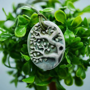 Tree of Life Diffuser Necklace (Green) - The Oily Blends
