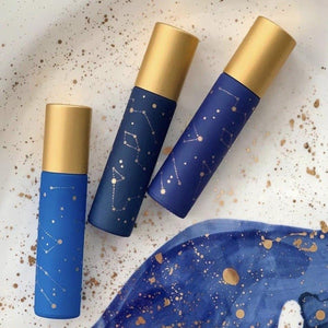 Essential Oil Roller Bottles Whimsy + Wellness Constellation Trio The Oily Blends Singapore