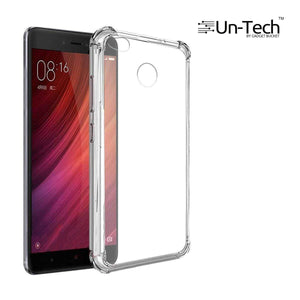 Redmi 4 Transparent Mobile Back Cover Case with TPU Corner Protection Phone Cases