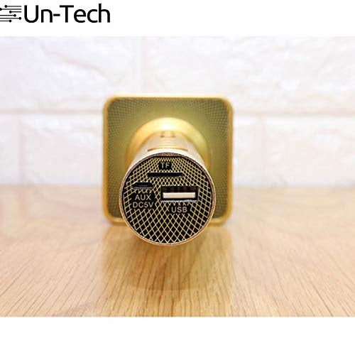 Handheld Portable Wireless Microphone With Bluetooth Speaker SD-08