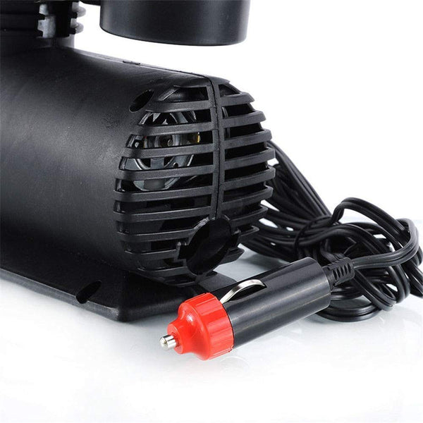 Air Compressor 12V 300 PSI Tyre Inflator for Car, Bike, Bicycle And Football.