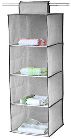Home 4 Self Hanging Organizer Wardrobe for Storage