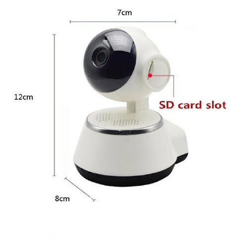 Hd Wireless IP Camera With Wifi Night Vision CCTV Security Remote Function
