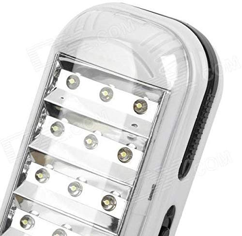 LED Emergency Light Rechargeable Emergency Light with 2 Mode Settings 42 LED Lights (42)