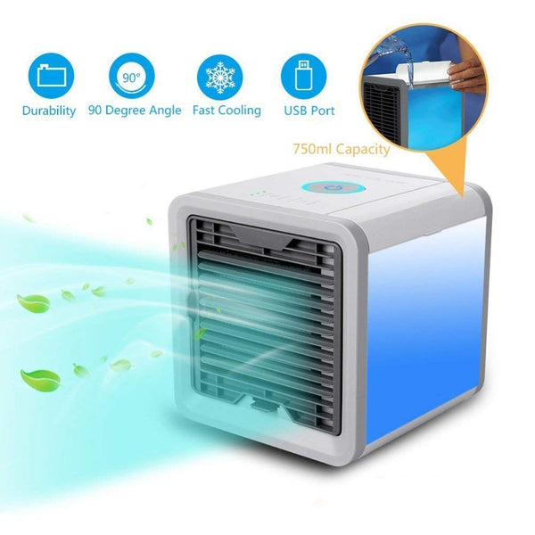 Un-Tech Portable 3 in 1 Air Conditioner Humidifier Purifier Mini Cooler