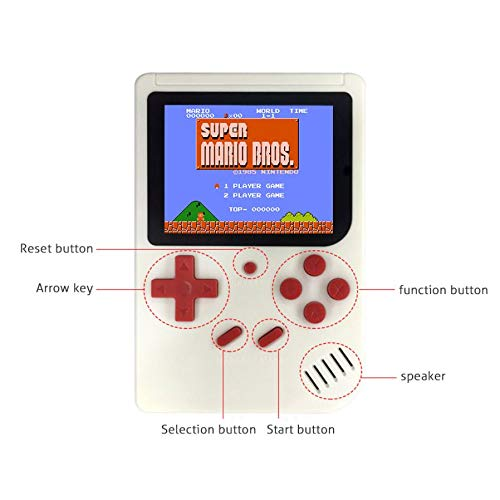 SUP Gamepad Classical Retro Games Box 3.0 Inches TFT Screen 400 in 1 Games