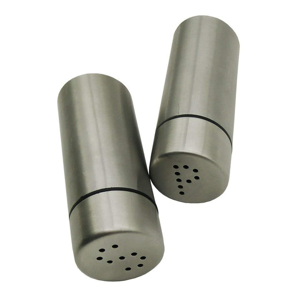 Salt and Pepper Shakers Modern Kitchen Stainless Steel Salt and Pepper Shakers 3 Inch