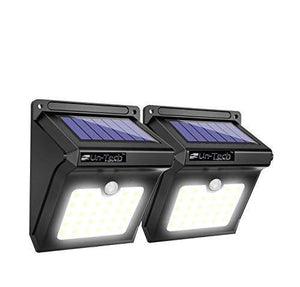 20 LED Solar Motion Sensor Outdoor Wall Light Wireless Lamp Garden Lantern- Pack of 2