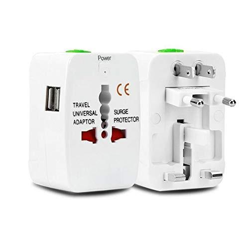 Universal Travel Power Plug Worldwide AC Outlet Plugs  for Europe UK,US, AU, Asia