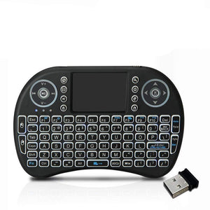 Un-Tech Touchpad Mouse Multi-Media Handheld Blacklight Smart Keyboard i8 360-degree