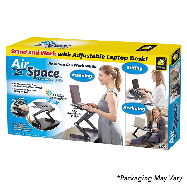 Air Space Laptop Desk Adjustable Laptop Stand & Computer Desk
