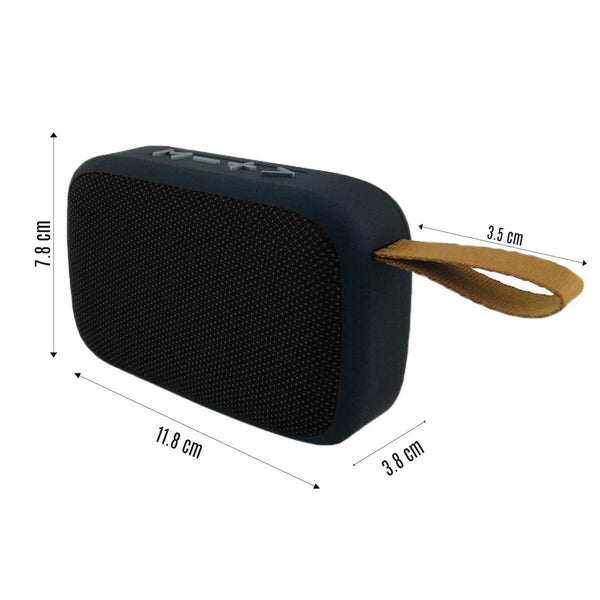 Portable Bluetooth Speaker Tablepro MG2 Music Player mp3 Stereo Audio FM Radio Splash Proof