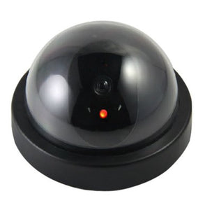 Dummy Fake Infrared Sensor Dome Wireless Security Camera with Blinking Led Realistic Looking CCTV Surveillance