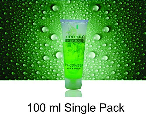 Natural Herbal Neem Aloe Vera Facewash (100ml)
