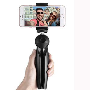 Mini Tripod 360 Degree Universal Mount & Phone Holder Compatible with All Mobile Phones
