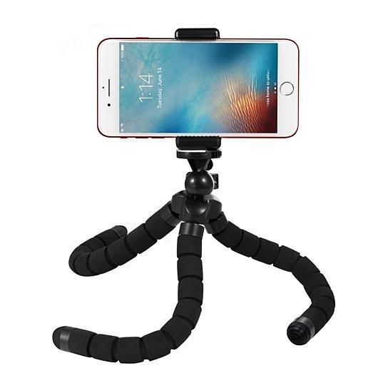 Octopus Style Tripod with Universal Mobile Monopod Mount Adapter