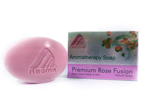 Aromatherapy Natural Ayurvedic Soap -  Pack of 4  (100g each) (Rose)